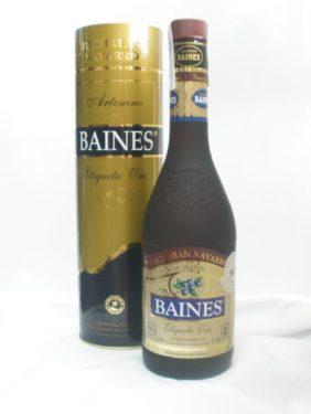 BAINES Etiqueta Oro